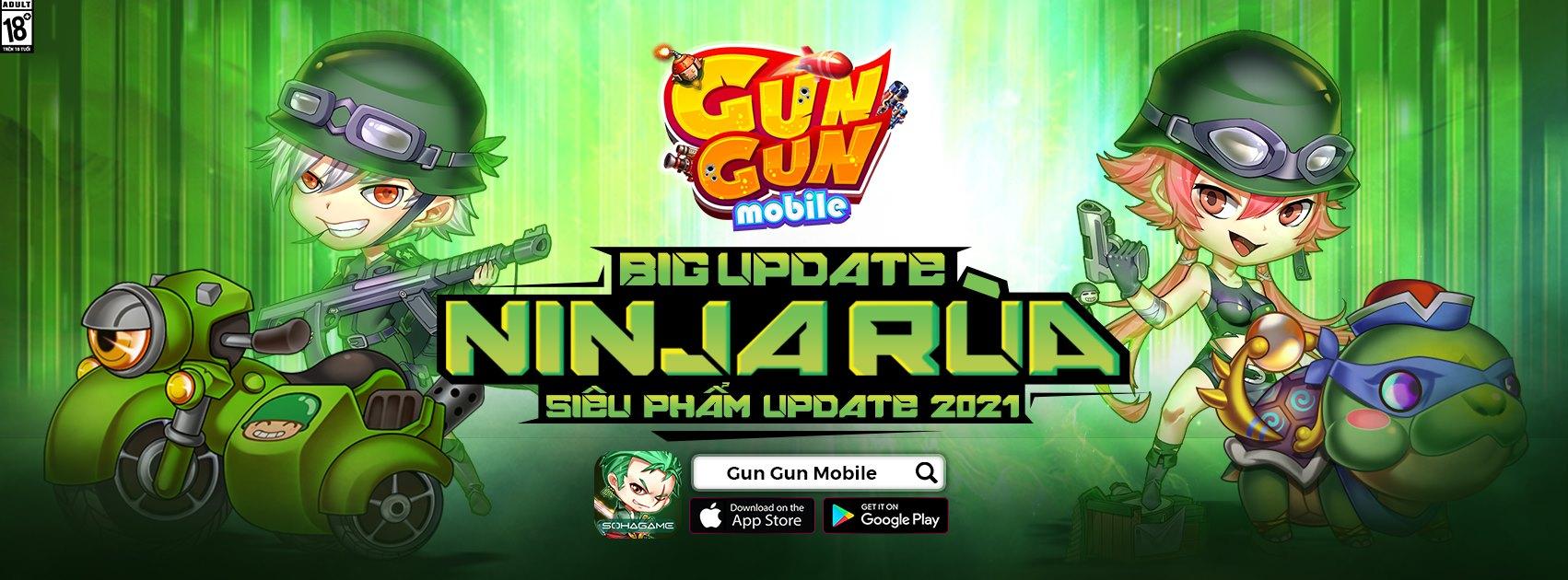 """Gun Gun Mobile công bố landing đặc biệt mừng Big Update, tiếp tục phát """"lương"""" cho game thủ toàn server"""