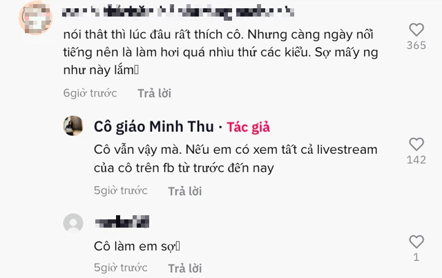 """CĐM xôn xao đoạn clip cô giáo Minh Thu trợn mắt, lườm nguýt, quát anti khi bị """"cà khịa"""" chuyện livestream chơi game"""