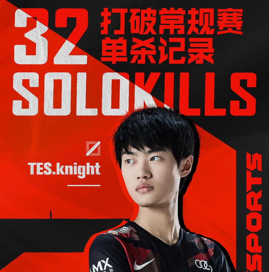 TES.Knight chính thức phá vỡ kỷ lục solokills tồn tại hơn nửa thập kỷ của huyền thoại Marin