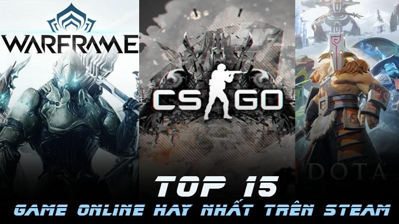 Top 15 game online hay trên Steam được đánh giá cao nhất